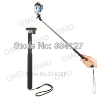 GoPro Retractable Hand Held Monopod for Camera Extendable from 22cm to 95cm-Black Go Pro hero3