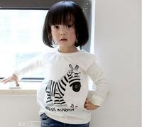 free shipping 1pcs long-sleeve cotton casual fashion baby T-shirt