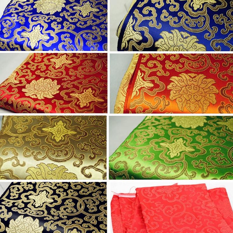 Silks and satins woven damask silk cheongsam fabric damask fabric brocade 5colors retro rich patterns tang suit fabric(China (Mainland))