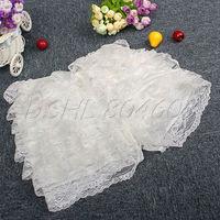 Fashion Cute Crochet Multi-layered Tiered Lace Shorts Skorts Short Pant