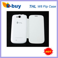 Cheap promotion Original Flip Case For THL W8 W8 Beyond W8S MTK6589T Android Smart Phone