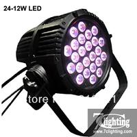 4units/Free shipping,24x12W LED Par Light,RGBW 4IN1 LED,Theater Standard Hight Power LED Par Light