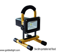 Dim and Rechargeable Floodlight