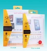 "PVC Retail Packaging / Package / Plastic Box For Apple ipad 2 3 4 & All 9.7"" tablet Case, 300pcs by Fedex Freeshipping!"