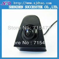 NEW Car Front View Camera Logo  Camera Free Shipping CCD 480 TVL HD Colour Waterproof 170 Degree