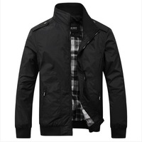 2014 new autumn winter coats men's casual jackets, slim fit coat,cardigan style jacket free shipping .3 colours. sizeXL-5XL
