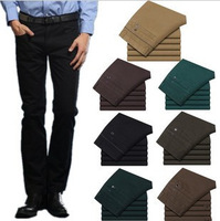 Hot Sales New Arrival High Quality Men's Pants Simple Style Casual Pants Solid Colour Straight Pants 12 Colors 1 Pc/Lot