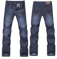 FREE SHIPPING New Fashion Mens Classic Straight Jeans Casual Short & Long Thin Pants Trousers