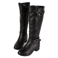European style winter genuinie leather warm women motorcycle boots,martin boots for woman,women's shoes,WB109