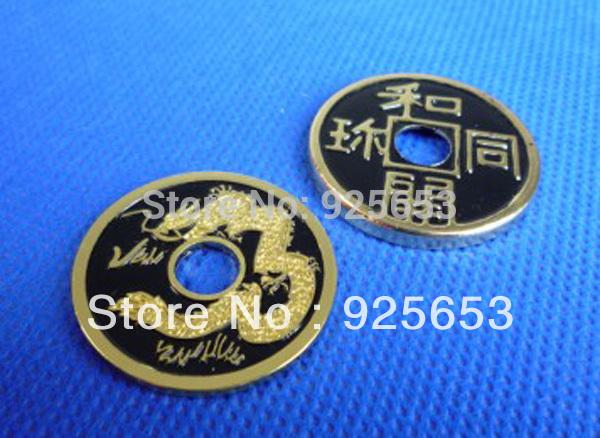 Livraison gratuite! élargi chinois. coquille. boisl/médaille.- noir ...