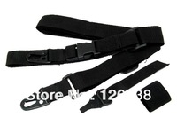 3-point Tactical Rifle Gun Sling Strap Lanyard Hook F Outdoor Hunting Games