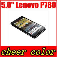 Original Lenovo P780 MTK6589 Quad Core Mobile Phone 5.0'' Gorilla Glass 8Mp 1GB RAM Android 4.2 Dual SIM Multi Language Original