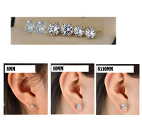 Free Shipping!3pair/set,Sparking Rhinestone silver Stud earring for Bridal Jewelry IN STOCK,wholesale(ZQE01 )