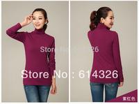 2014 Fashion Women's Turtleneck Sweaters Ladies' Long Sleeve Plus Size 2XL 3XL 4XL Pullovers Women Clothing Free Shipping XYX149