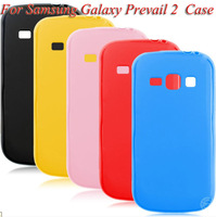 jelly cover For samsung galaxy prevail 2 ii case free shipping