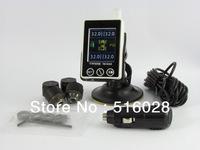 Tyredog Td1400 Tpms System Tpms Sensors Support Psi Bar Tire Pressure Monitoring System External Sensors Anti-Theft Lcd Display