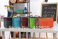 Free Shipping  300pcs/lot Women Multifunction Organizer/Travel Insert Handbag Organiser Storage Make Up Cosmetics Bag Travel Bag