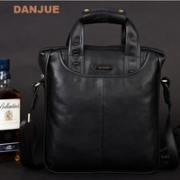 2014 leather laptop bag 100% Cowhide men's business briefcase Genuine leather man shoulder bag / Luxury leather bag
