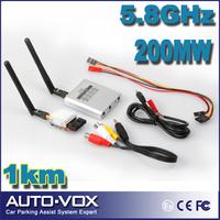 Free Shipping Micro 5.8Ghz Video AV TX RX Combo System FPV 200mW 2Km Range 5.8 ghz Transmitter Receiver 5.8G