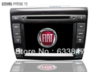 Car DVD Player for Fiat Bravo Supporting Can bus and Virtual 8 disc exchanger