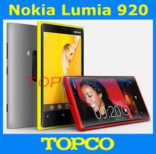 "Original Nokia Lumia 920 windows OS Unlocked phone Dual Core 4.5"" with WIFI GPS 32GB 8MP camera Free Shipping(China (Mainland))"