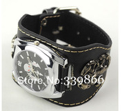 Holiday sales! New cool skull scorpion punk style unique women watch men bracelet cuff watch JW2003 Free Shipping