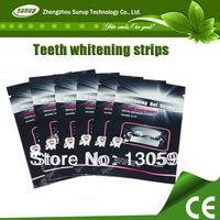 Quick white teeth whitening strips SU-WW,teeth whitening gel strips