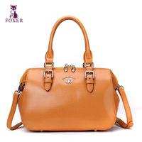 FOXER women messenger bag new 2014 fashion shoulder bags ladies totes vintage handbag famous brands women leather handbags