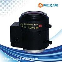2.8-12mm 2MP Varifocal Auto iris Lens for Box Camera