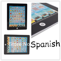 2013 Hot sale learning machine / Educational Product Children tablets For kids Studying Spanish Free Shipping