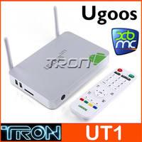 UGOOS UT1 QUAD CORE RK3188T MINI PC TV BOX  Media Player 2G/8G HDMI xbmc double Antenna Google Android 4.2