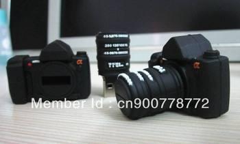 new popular holesale gift promotion fashion waterproof Plastic camera USB 2.0 Memory Stick Flash Drive 16GB