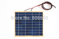 5W  18v  Solar Cell panel for diy boat 12V battery charger,solar panel poly