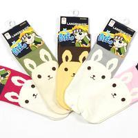Free Shipping socks LANGSHA socks 100% cotton socks at home socks 18-20cm