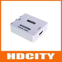 Mini Composite RCA CVBS AV to HDMI Converter For VCR DVD 720P 1080P HDCITY