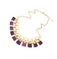 Newest Brand Statement Fashion Temperament Geometry Dickie Rhinestone Punk Choker Necklaces&Pendants For Women Jewelry A170