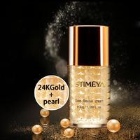 Free shipping  Famous Brand 24K gold  pearl face Skin Care anti-aging whitening moisturizing Anti Wrinkle cream 30g