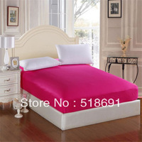 100% cotton bedding Pure color cotton mattress covers bedspread  Single double sheet bed skirt A variety of color