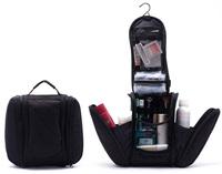 2014 Black New Orgarnizer Shaving men's travel bags Deluxe Large Hanging Hook Travel Toiletry Kit bag