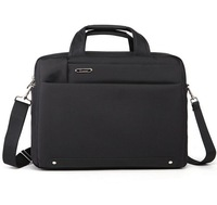 High quality Thick shockproof and waterproof 15 inch fashion business men / lady shoulder laptop bag