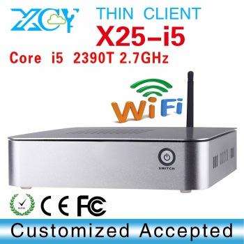XCY X25-I5 desktop pc Network computer mini pc with  4*USB2.0,  1*HDMI,can oem cpu/motherboard/RAM/HDD