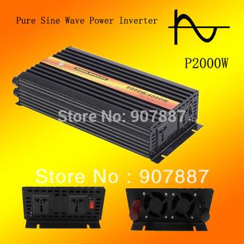 BERT Brand Pure Sine Wave 12V 220V 2000w/2kw Off Grid Inverter
