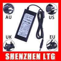 12V 6A AC/DC Power Supply Charger Transformer Adapter for 5M 5050 3528 Waterproof  LED Strip light US/UK/EU/AU standard