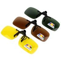 New Polarized Sunglasses Clip for Myopia Glasses Driving Fishing Biking Skiing  Q0106Z  Alishow