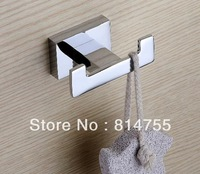 Free Shipping Robe Hook,Clothes Hook,Solid Brass Construction with Chrome finish,Bathroom Hardware,Bathroom Accessories #WT14
