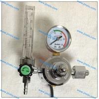 freeshipping 110V CO2 regulator  CO2 gas heater gas pressure meter  MIG welding regulator