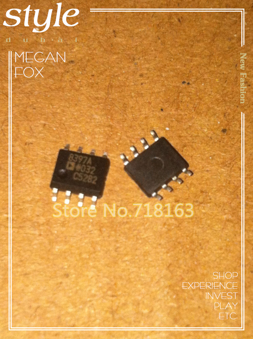 50PCS AD8397AR holographic SOP8 high output current amplifier or memory - the flash memory chip(China (Mainland))