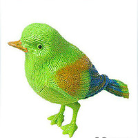 Free shipping novelty item children gift,Lovely Bird ,voice control bird, fantastic singing song bird promotional toys A088