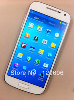 "New arrival Air guesture mini S4 i9500 i9190 mobile phone mtk6572 dual core android 4.2.2 5MP camera 4.3"" super amoled phone DHL"