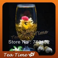 Free Shipping 10pcs/lot  jasmine flower tea 80g Chinese blooming tea with secret gift New